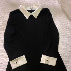 Adams Family inspired sleek dress